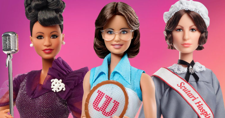 Barbie unveils Ella Fitzgerald, Billie Jean King, and Florence Nightingale dolls 14