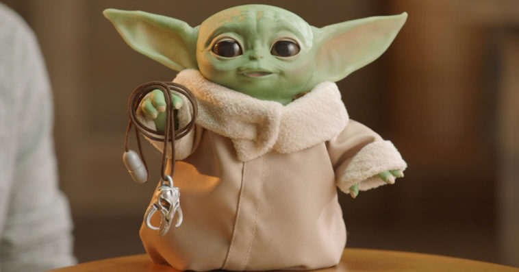 Hasbro's Baby Yoda animatronic toy looks, sounds, and moves like the real thing 12