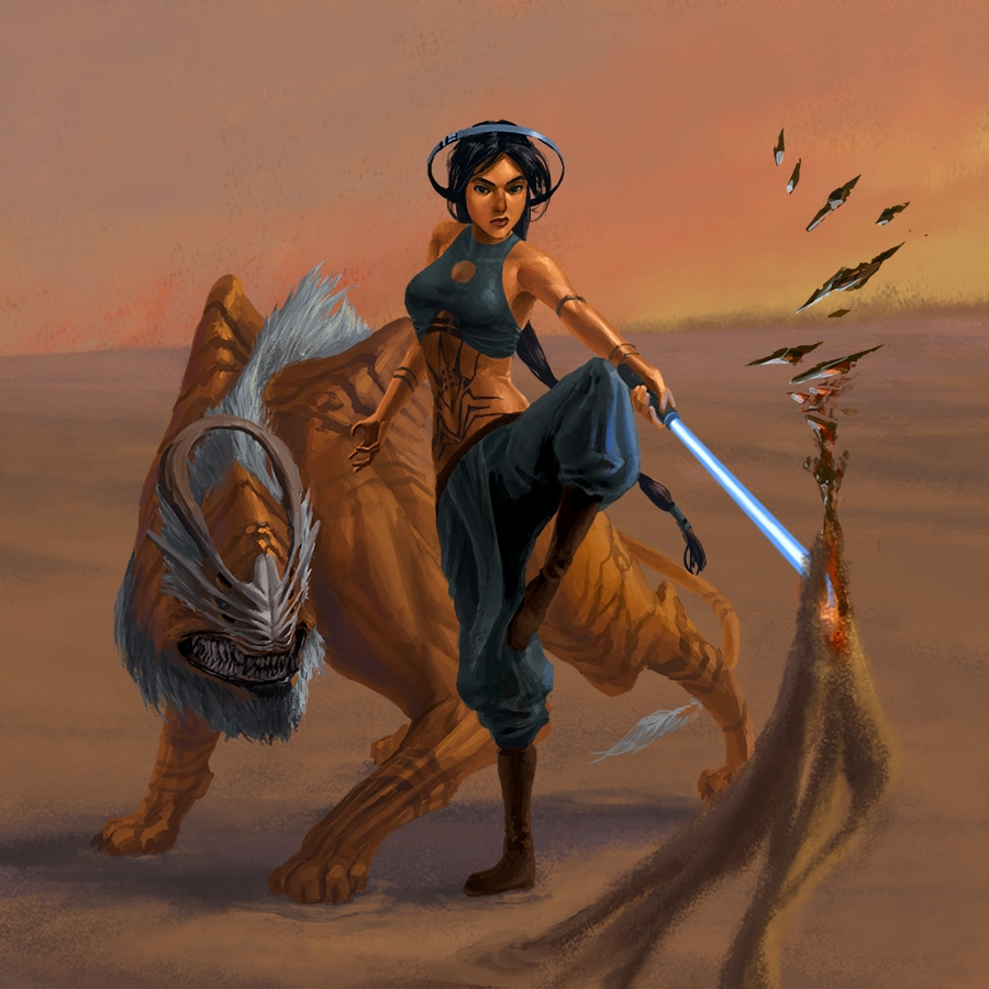 Disney princesses and heroes reimagined as Star Wars characters 10