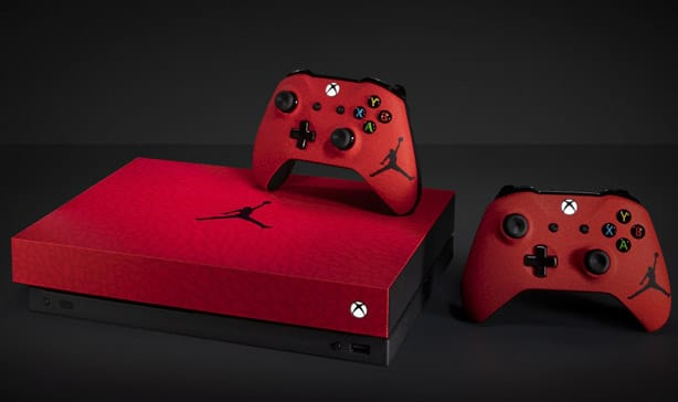 Microsoft and Nike created a Jordan-branded Xbox One X just to give it away 10