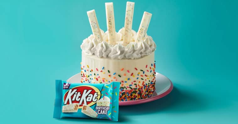 Birthday cake-flavored Kit Kats are hitting the shelves this April 15