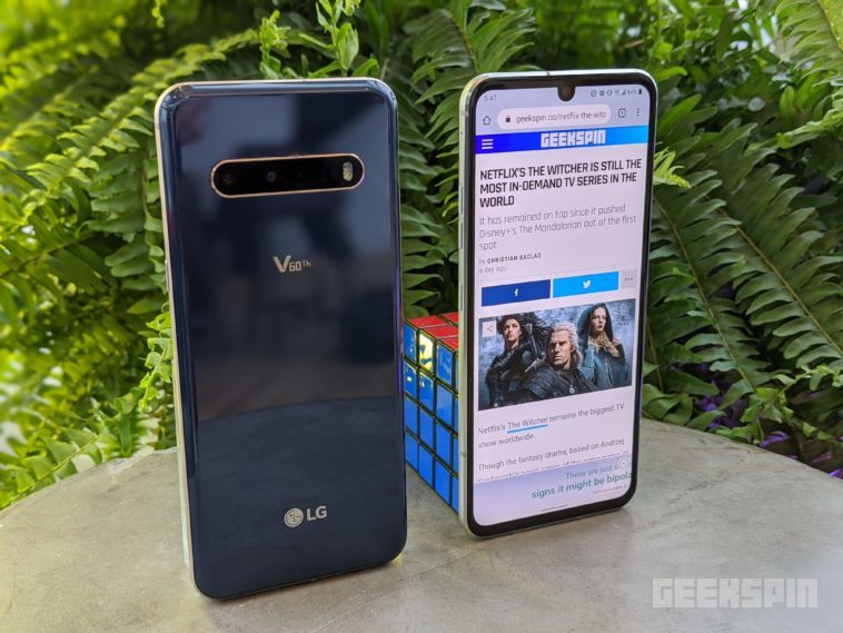 LG V60 ThinQ 5G packs in LG's largest display to date along with 8K video recording 13