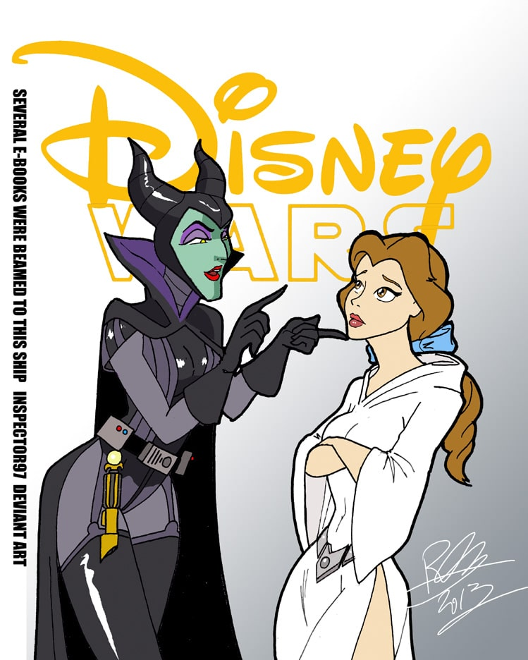 Disney princesses and heroes reimagined as Star Wars characters 20