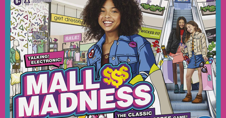 Hasbro's Mall Madness board game is getting a new edition this fall 12