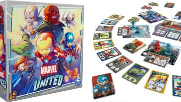 The Marvel United tabletop game is now live on Kickstarter 12