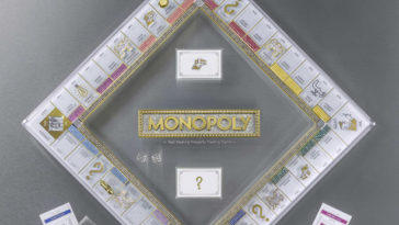 Monopoly's 85th anniversary edition is covered in Swarovski crystals 15