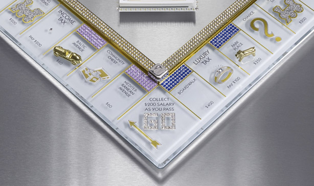 Monopoly's 85th anniversary edition is covered in Swarovski crystals 14