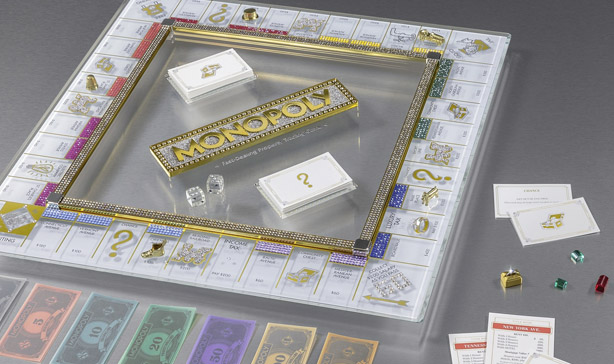 Monopoly's 85th anniversary edition is covered in Swarovski crystals 13