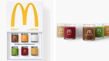 McDonald's Quarter Pounder-scented candles have already sold out 21