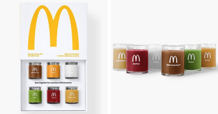 McDonald's Quarter Pounder-scented candles have already sold out 14