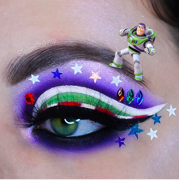 Incredible Disney-inspired eye and lip makeup 19