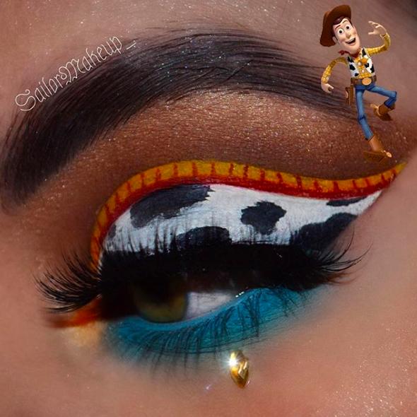 Incredible Disney-inspired eye and lip makeup 20