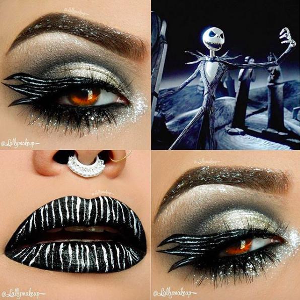 Incredible Disney-inspired eye and lip makeup 22
