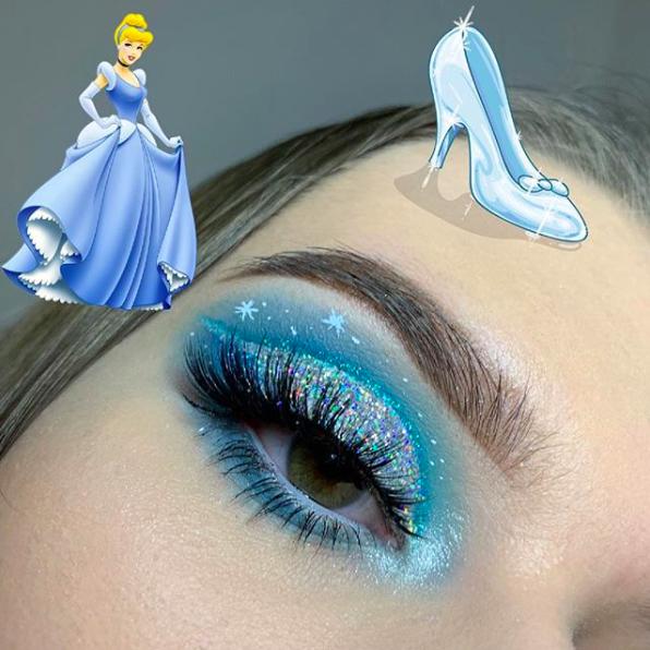 Incredible Disney-inspired eye and lip makeup 32