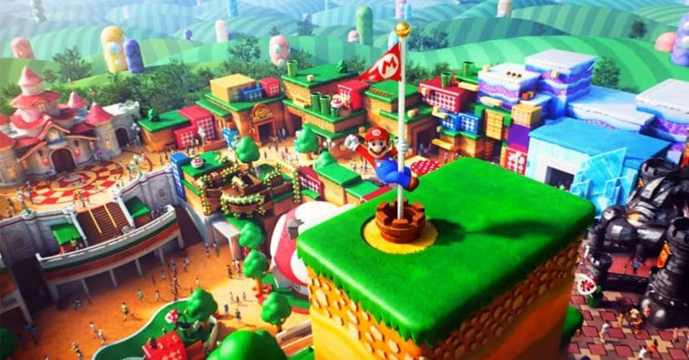 A video from Universal Studios Japan gives Mario fans a glimpse of Super Nintendo World 13