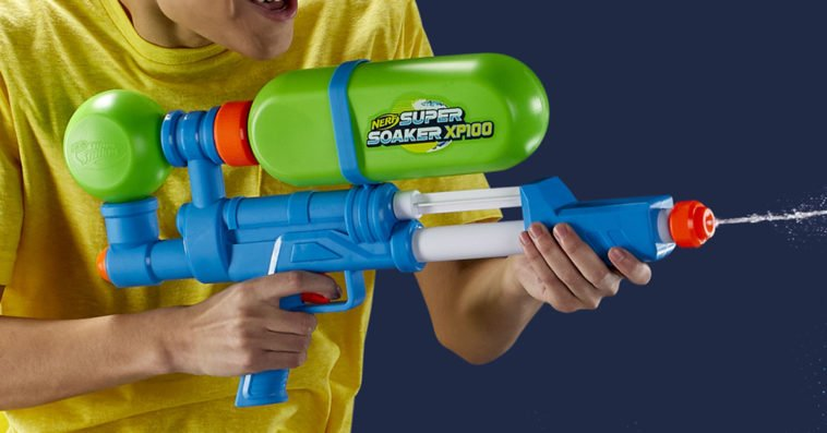 Three of Nerf's original Super Soakers are coming back this spring 11