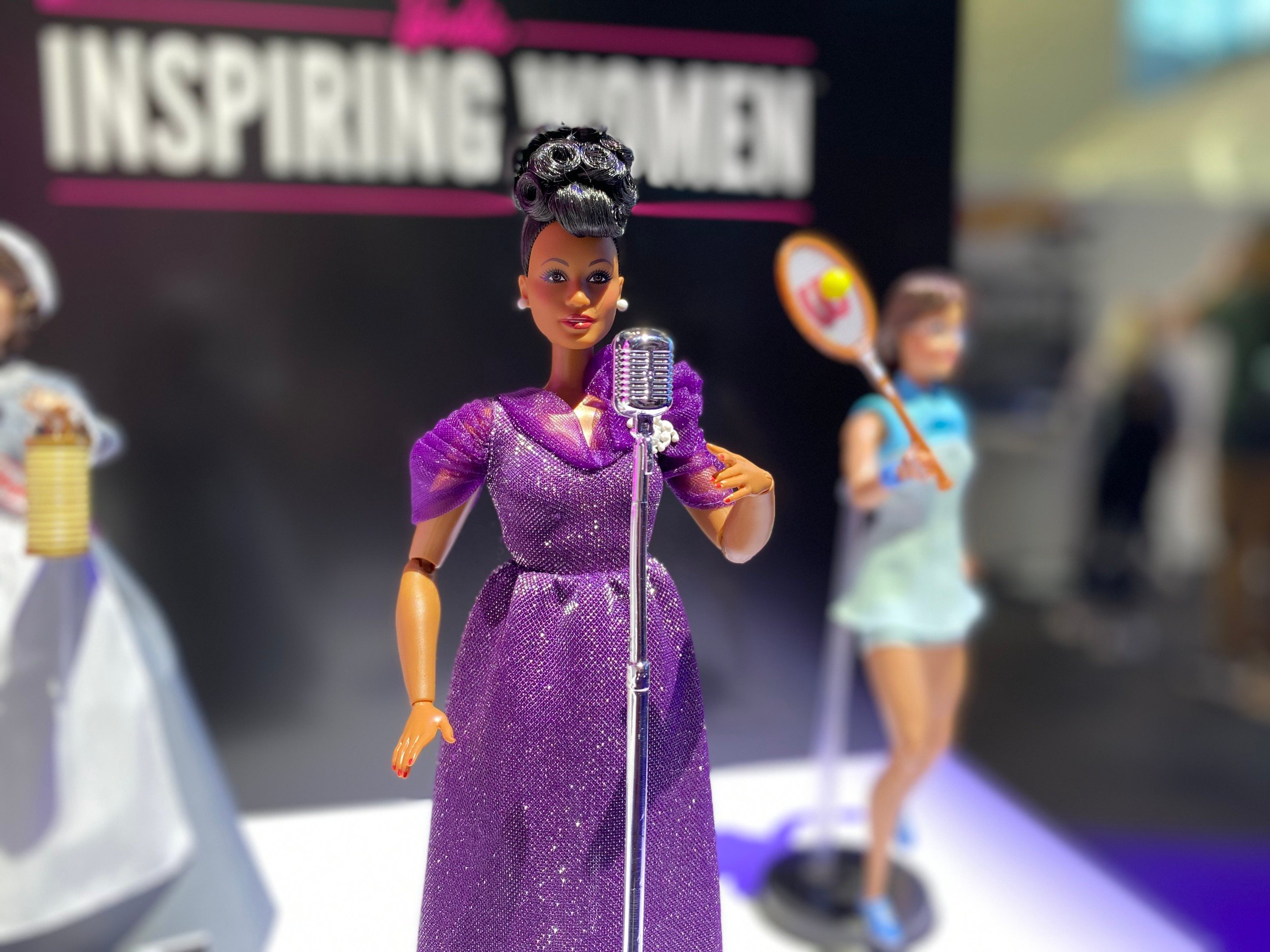Barbie unveils Ella Fitzgerald, Billie Jean King, and Florence Nightingale dolls 16