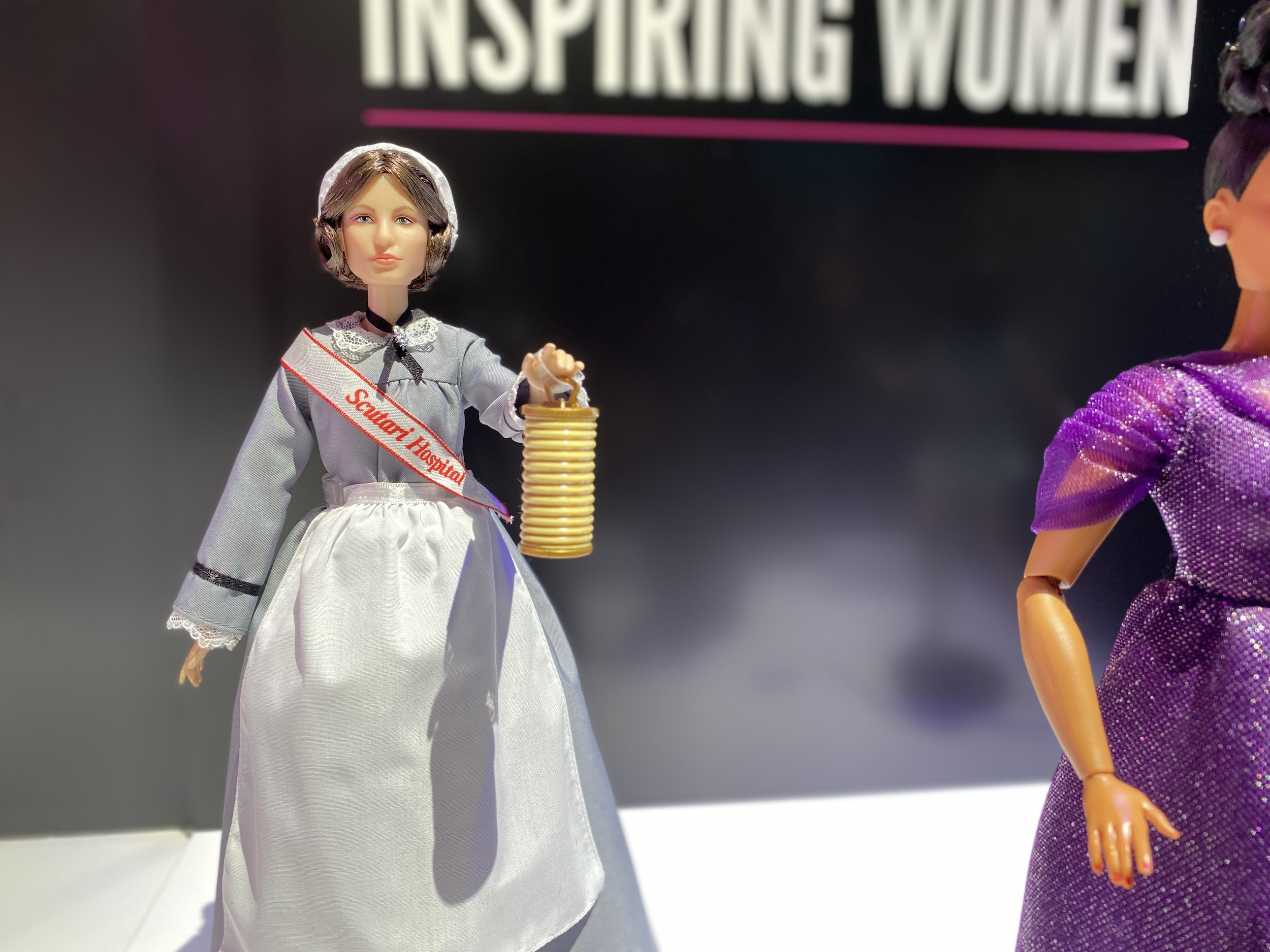 Barbie unveils Ella Fitzgerald, Billie Jean King, and Florence Nightingale dolls 18