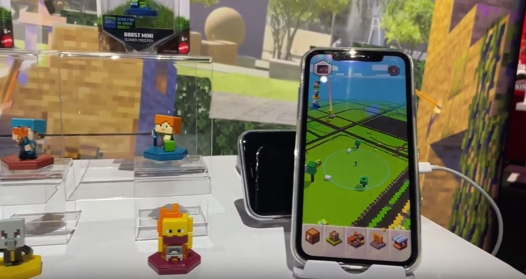 Minecraft Earth is getting adorable Boost Mini toys 14