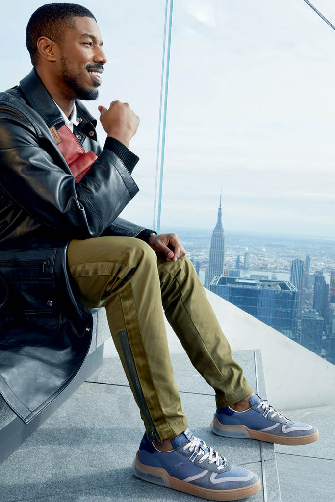 Coach's CitySole sneaker campaign stars Michael B. Jordan and Jennifer Lopez 16