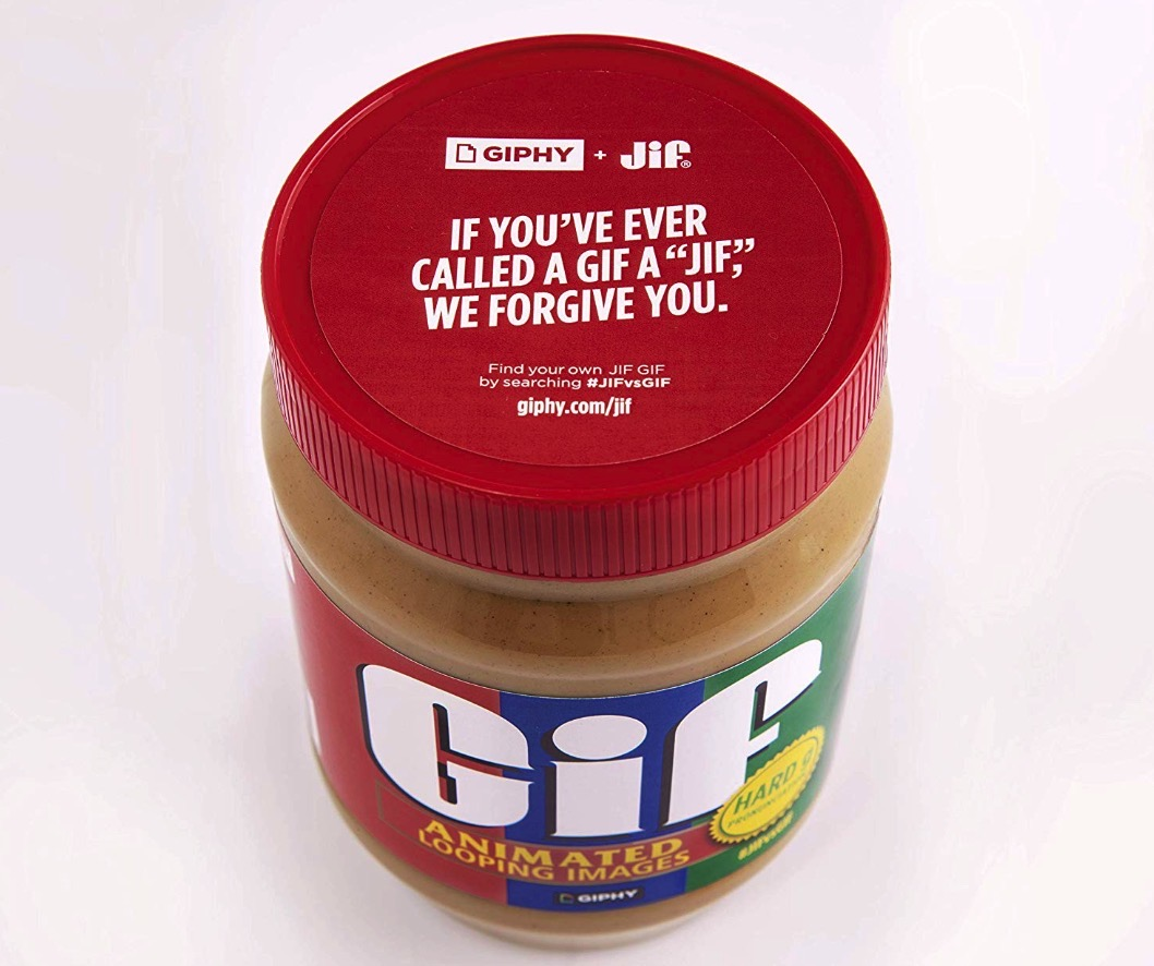 Jif peanut butter and Giphy team up to settle GIF debate 15