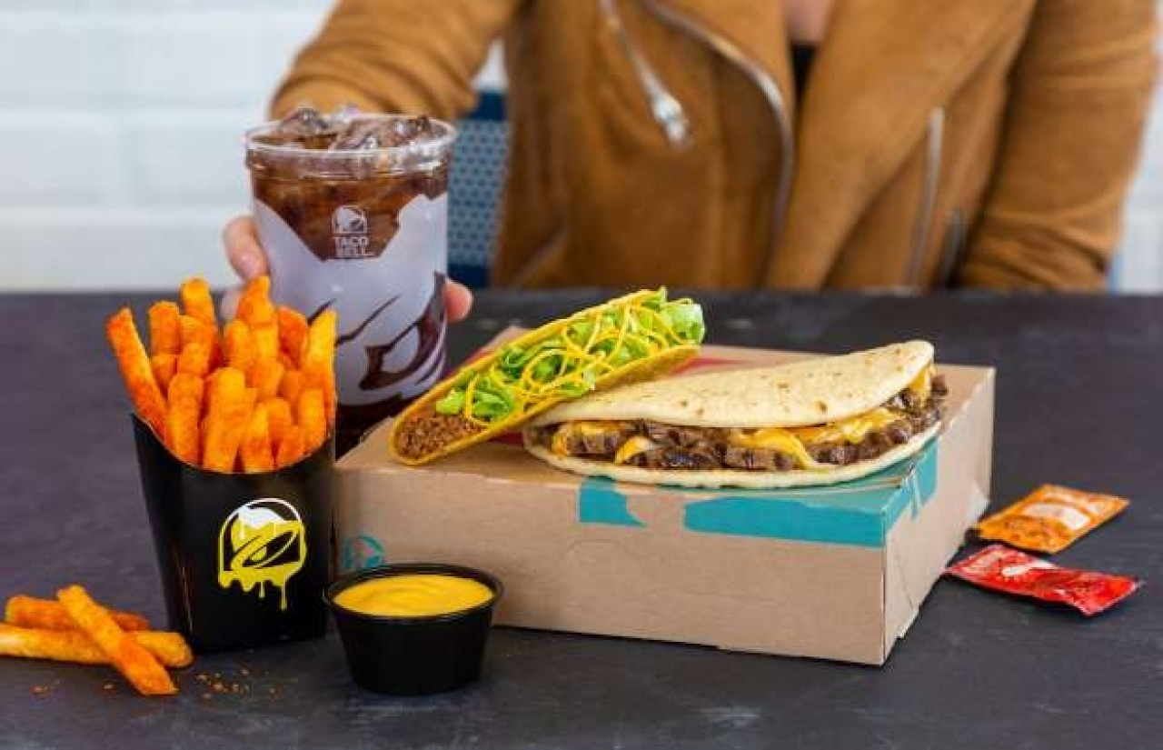 Taco Bell's Double Cheesy Gordita Crunch is back for a limited time 14