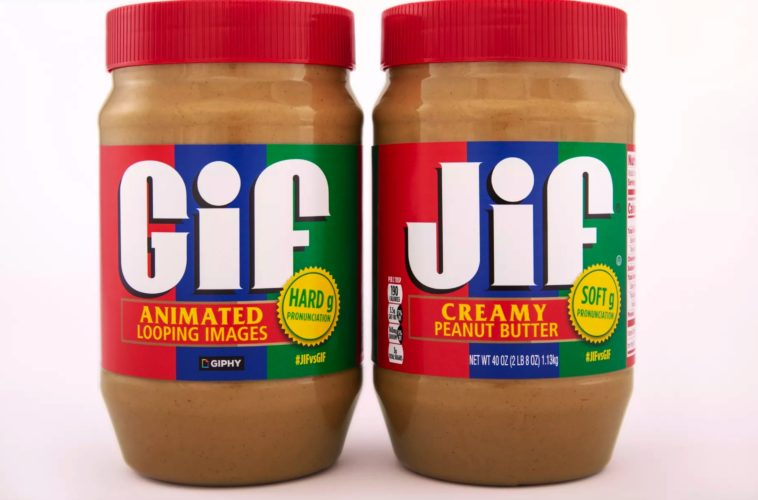 Jif peanut butter and Giphy team up to settle GIF debate 14