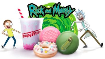 Krispy Kreme has new Rick and Morty doughnuts 23
