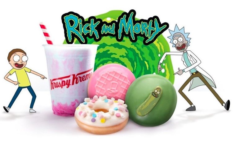 Krispy Kreme has new Rick and Morty doughnuts 16