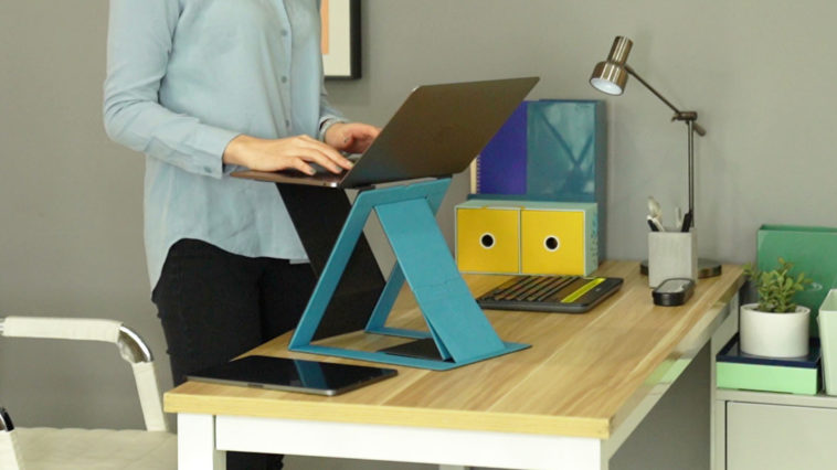 MOFT Z is the world's first portable standing desk 13
