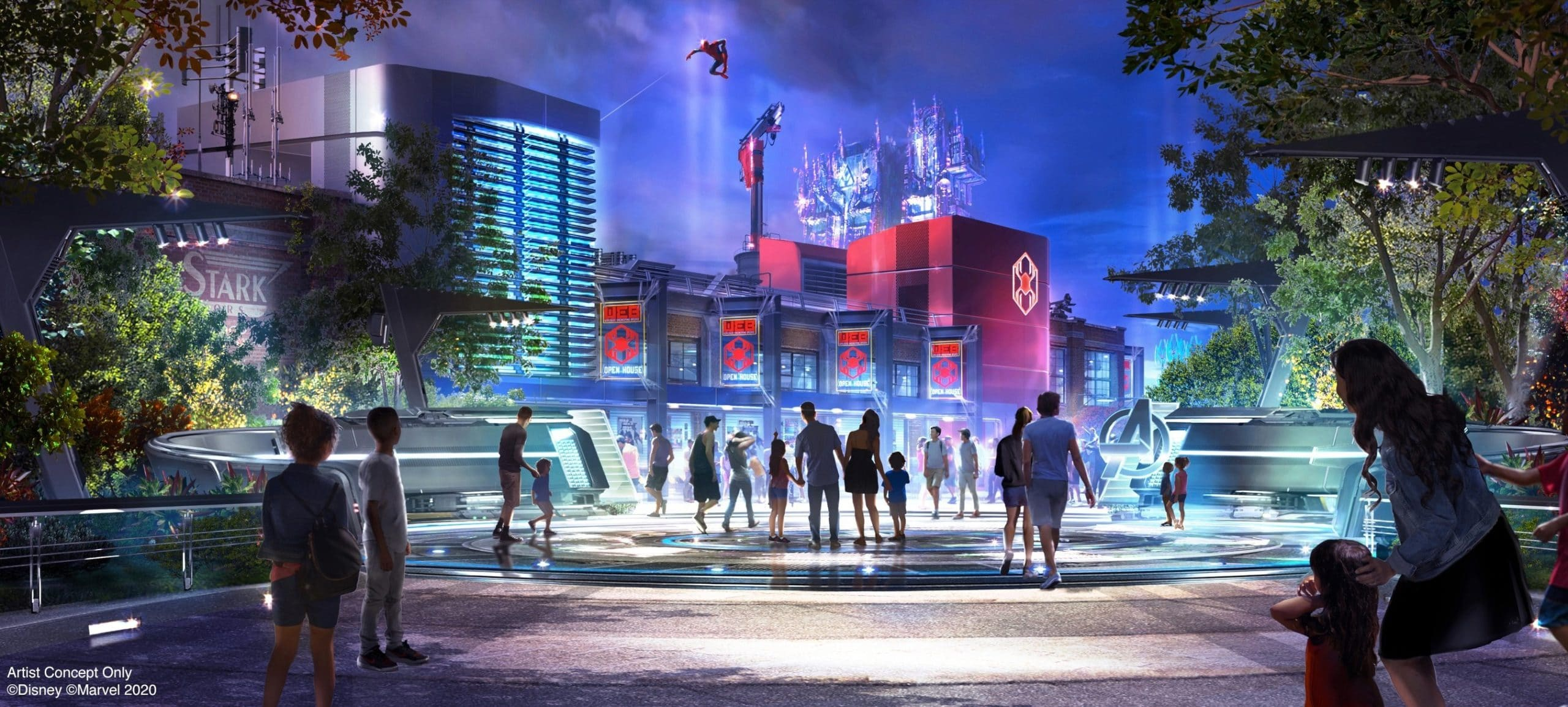 Here's what you'll see at Disneyland's Avengers Campus 15