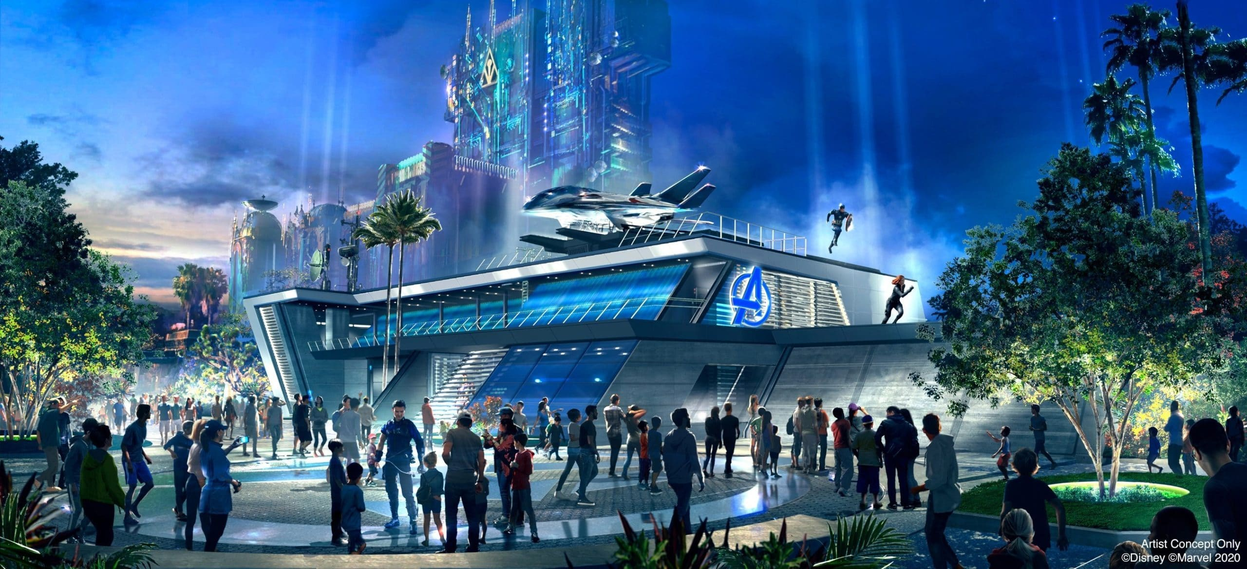 Here's what you'll see at Disneyland's Avengers Campus 14