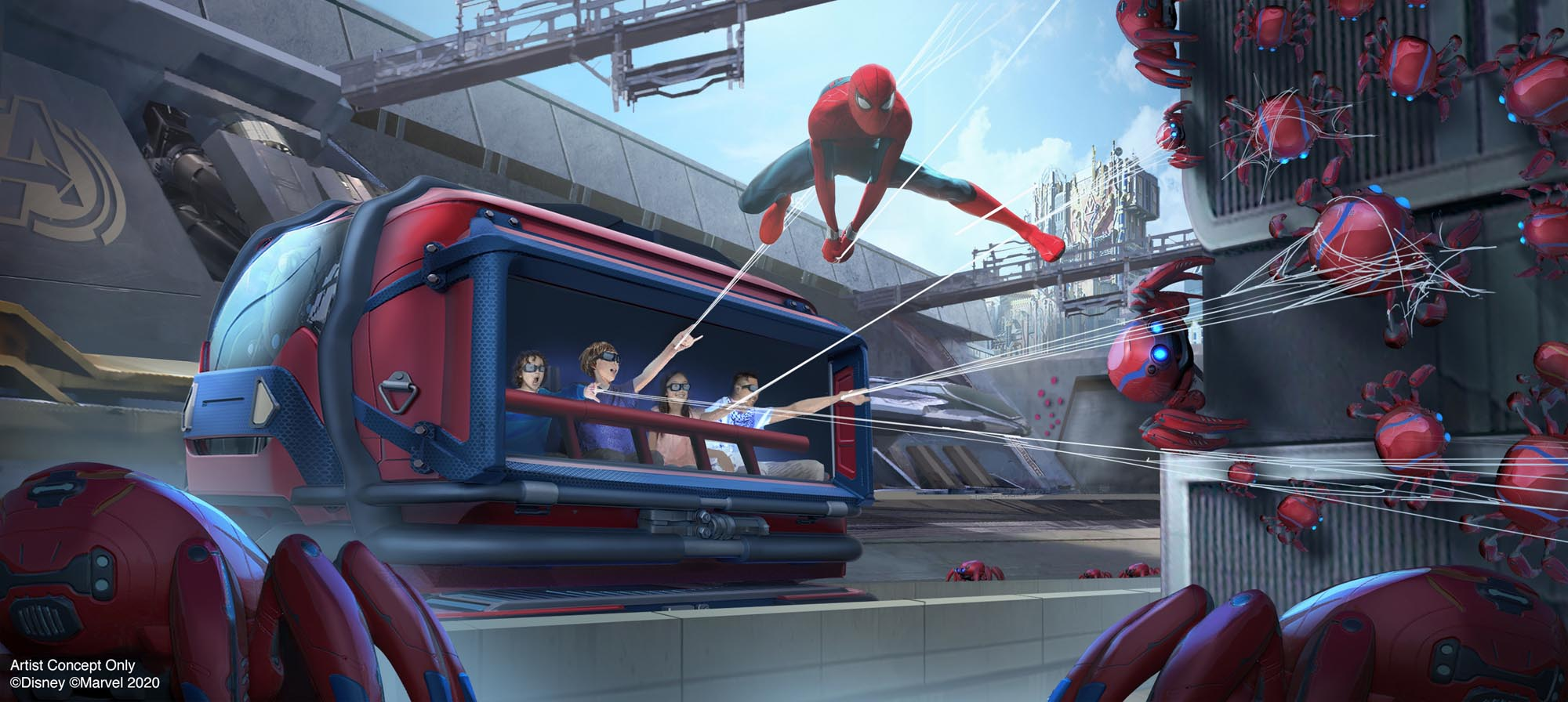 Here's what you'll see at Disneyland's Avengers Campus 16