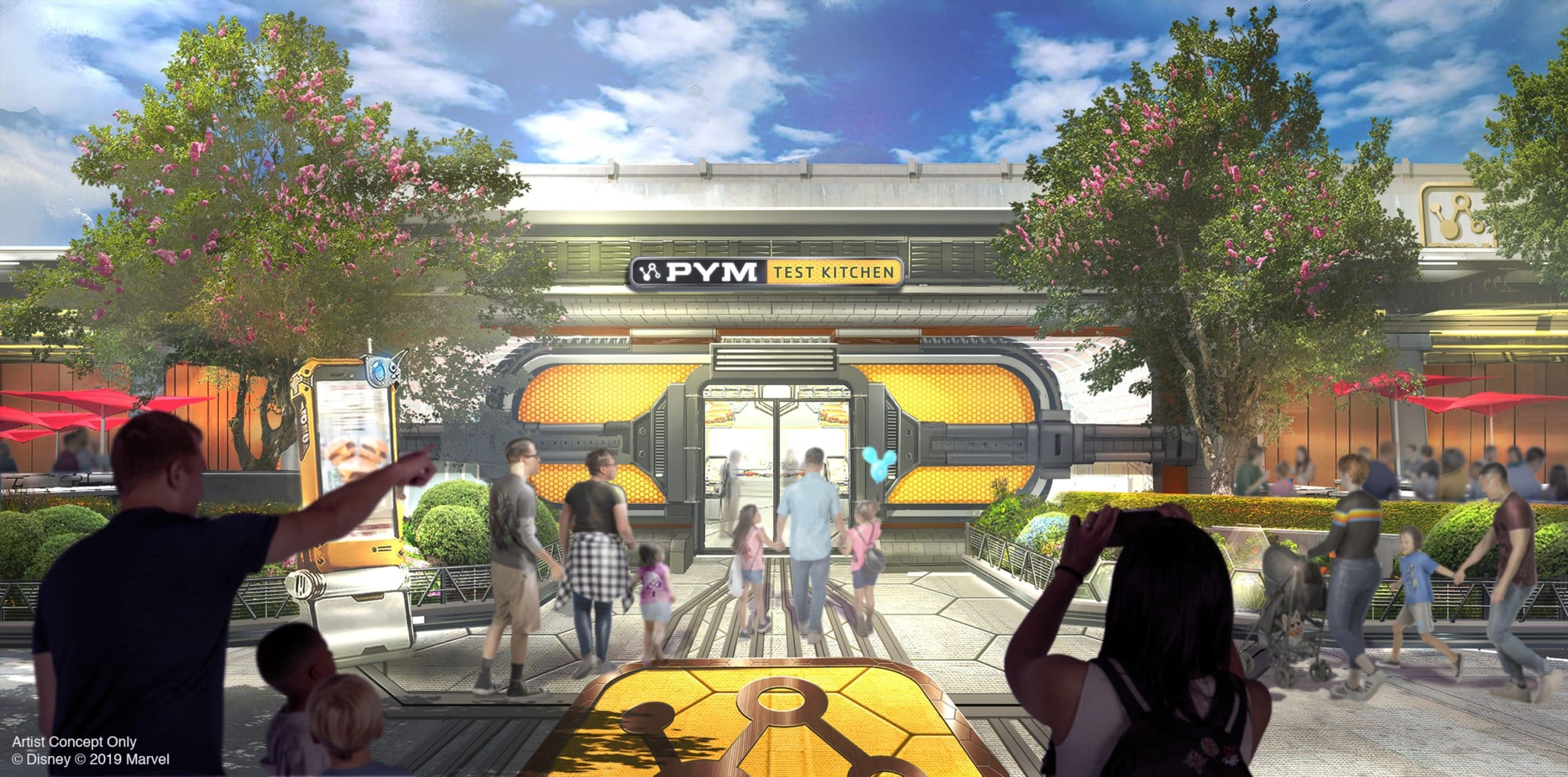 Here's what you'll see at Disneyland's Avengers Campus 18