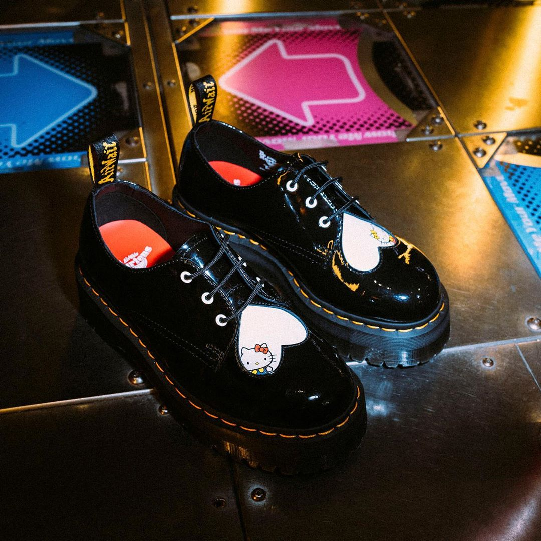 Hello Kitty and Dr. Martens re-team for a new feisty shoe collection 22