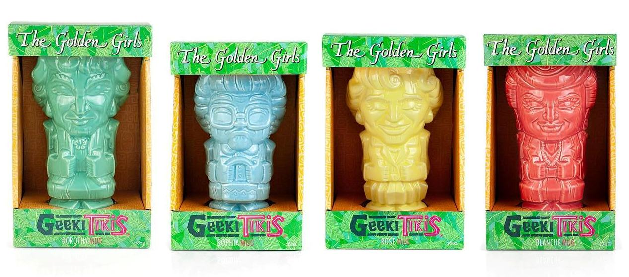This Golden Girls tikis mug collection is the coolest way to show your fandom this summer 14