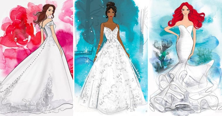 Allure Bridals is releasing a line of Disney Princess-inspired wedding dresses 19