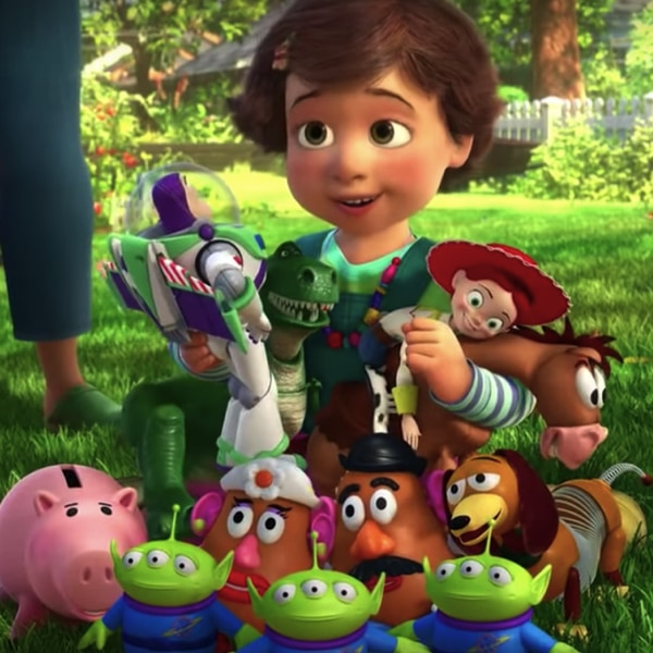 Why did the kid decide to give his toys away to Bonnie in Toy Story 3? 13