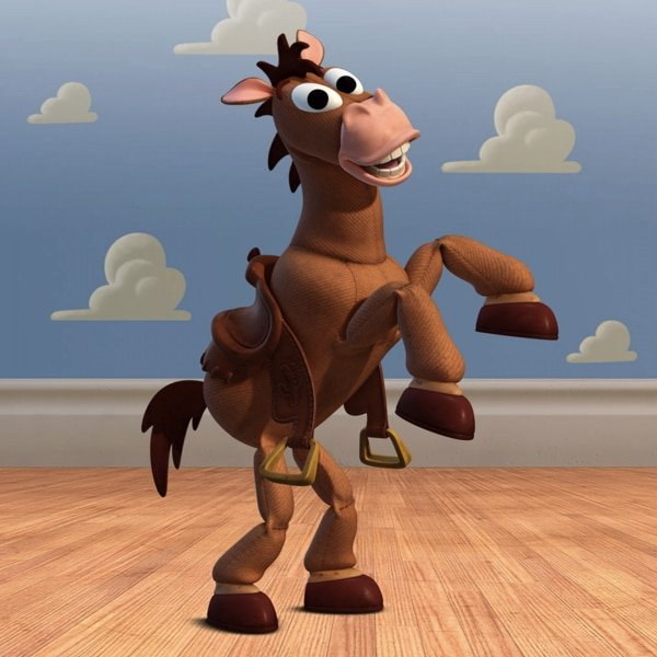 What's the name of Woody's horse? 17