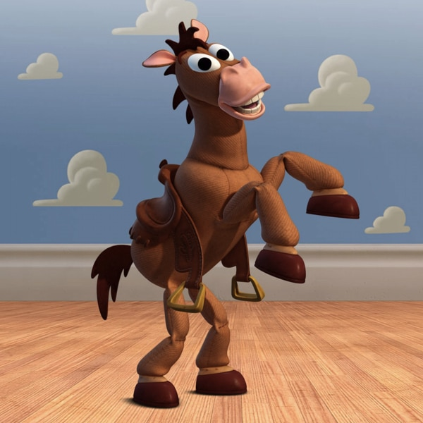 What's the name of Woody's horse? 21