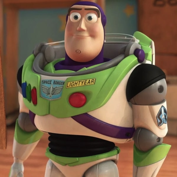 Who voices Buzz Lightyear? 22
