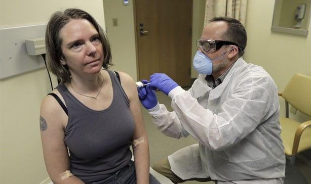 Coronavirus vaccine administered to first human subject 13