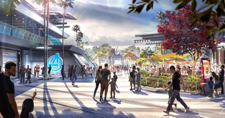Here's what you'll see at Disneyland's Avengers Campus 13