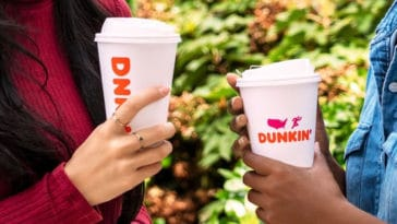 Dunkin' limits its operations to drive-thru and carry-out due to the coronavirus pandemic 11