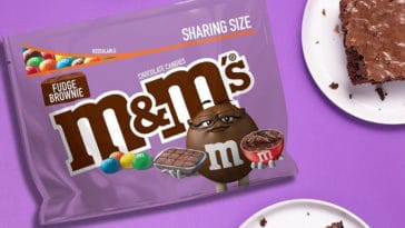 Fudge Brownie M&M's are coming back to store shelves in April 21