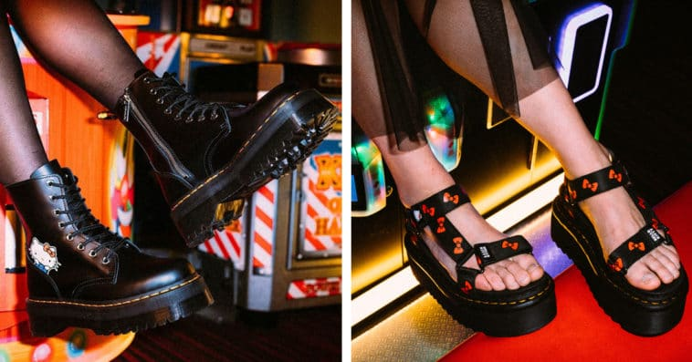 Hello Kitty and Dr. Martens re-team for a new feisty shoe collection 20