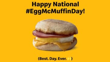McDonald's is giving away free Egg McMuffins to counter Wendy's breakfast menu launch 16