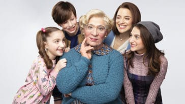 Broadway's Mrs. Doubtfire unveils first-look photos of Rob McClure as the titular nanny 12