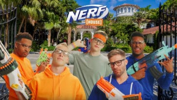 Hasbro's new Nerf House video series stars NFL players and LSU quarterback Joe Burrow 10