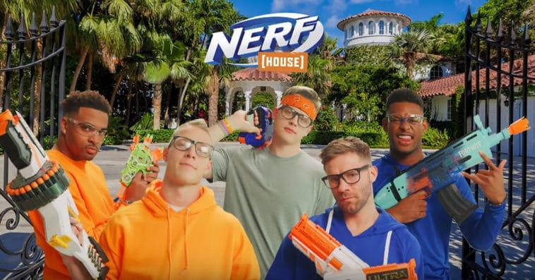 Hasbro's new Nerf House video series stars NFL players and LSU quarterback Joe Burrow 12